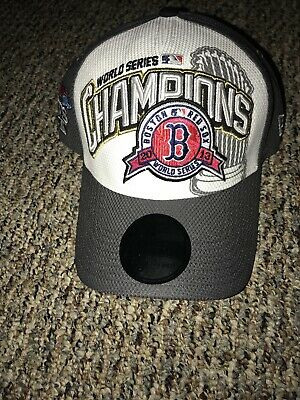 301d240177654 BOSTON RED SOX 2004 World Series Champions Locker Room Hat Rare Red ...