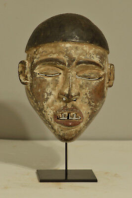 Mask African Yombe Male Power Congo Initiation Mask