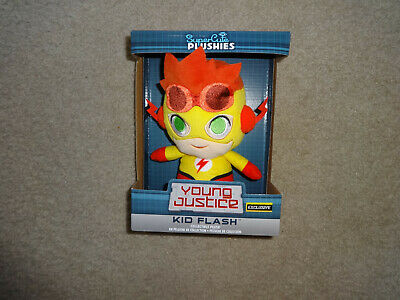 Funko Super Cute Plushies Young Justice Kid Flash Hot Topic Exclusive NEW