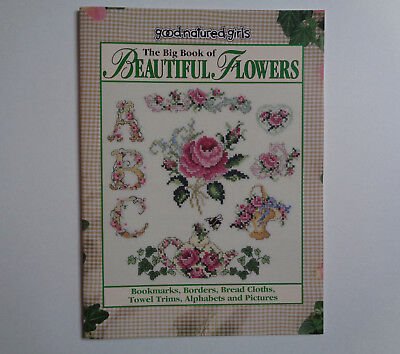 The Big Book Of Beautiful Flowers- Patterns for Borders, Bookmarks, Pictures etc