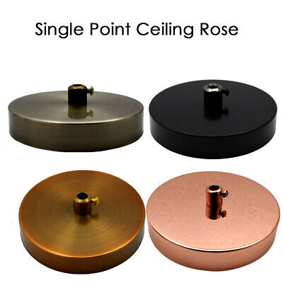 DCVoltage SINGLE POINT DROP OUTLET CEILING ROSE | Perfect for fabric flex cable