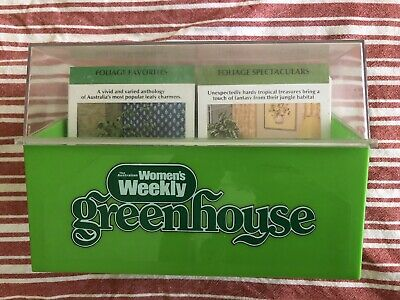 The Australian Women's Weekly Greenhouse Card Set In Original Box 1979