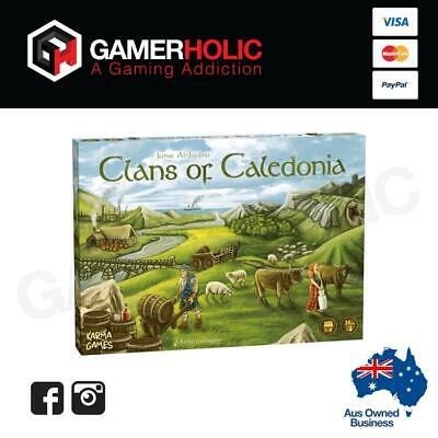 Clans of Caledonia Board Game Brand New