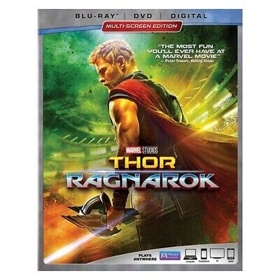 Buena Vista-Marvel Br147595 Thor-Ragnarok (Blu-Ray/Dvd/Digital Hd/Multiscreen...