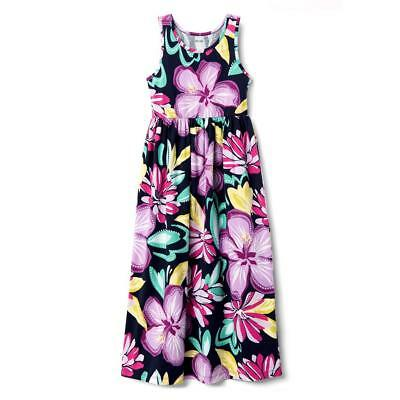 NWT Gymboree Jump Into Summer Floral Flower Maxi Dress Girl 5/6,10/12,14