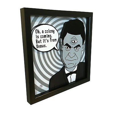 The Twilight Zone Will The Real Martian Please Stand Up Rod Serling 3D Pop Art