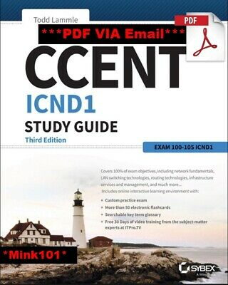 [PDF] CCENT ICND1 Study Guide Exam 100-105 3rd Edition by Todd Lammle