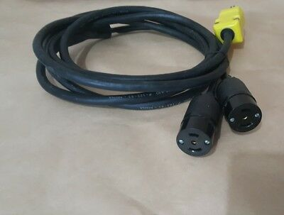 "Dual Outlet ""Y"" 9ft. Power Cord For GLAS-COL Heating Mantles"