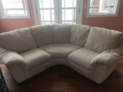 "GRAY SECTIONAL SOFA with Ottoman. ""LOCAL PICKUP IN MARYLAND ..."