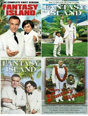FANTASY ISLAND Complete All 1-3 Seasons Series Film DVD Bundle Collection Movie
