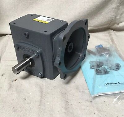 BOSTON GEAR F71830B5G Speed Reducer C-Face 56C 30:1 600 lb. Overhung Load
