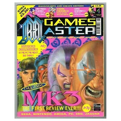 Games Master Magazine No.29 May 1995 MBox3521/H MK3 The First Review Ever!!!