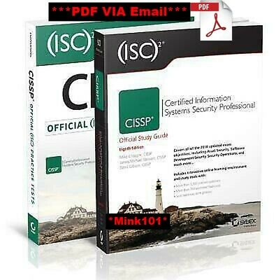 (ISC) CISSP Certified Official Study Guide + CISSP Official Practice Tests (PDF)