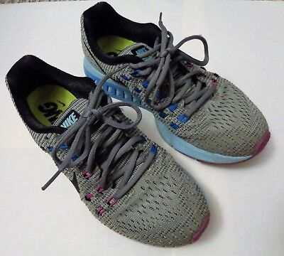 wholesale dealer c2683 0193c Nike Zoom Structure 19 Women s Running Shoes Size 7.5 Gray Pink Blue  806584-005