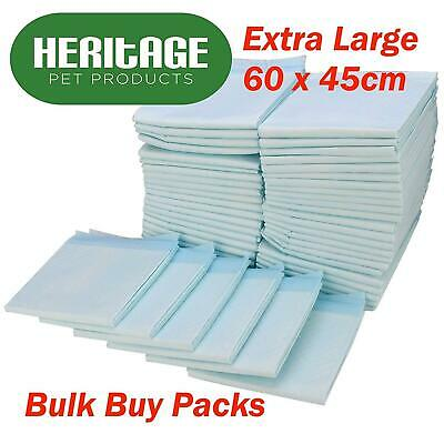 Large Puppy Training Pads Wee Toilet Trainer 60 X 45 Cm 30 Pack Quality Absorb
