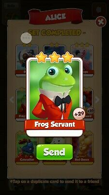 Coin Master Card Frog Servant  - FAST DELIVERY!!!
