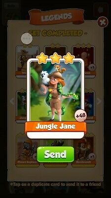 Coin Master Card Jungle Jane- FAST DELIVERY!!!