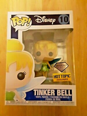 Funko Disney Diamond Collection POP! Tinker Bell (#10) - Hot Topic Exclusive