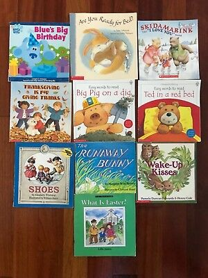 CHILDRENS PICTURE BOOK Lot 20 Clifford Corduroy Curious George