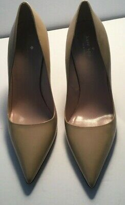 1efea1bf3dfc Kate Spade Licorice Women s High Heels Pumps Pointed Toe Nude Patent 8.5B