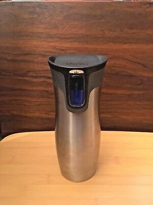 Contigo Stainless Steel Tumbler Water Bottle-Double Wall Vacuum Insulated 16 oz