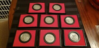 Lot Of 8 America's First Medals Us Mint In Orig Holders