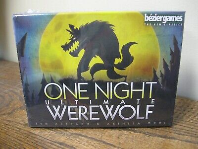 New! One Night Ultimate Werewolf Game
