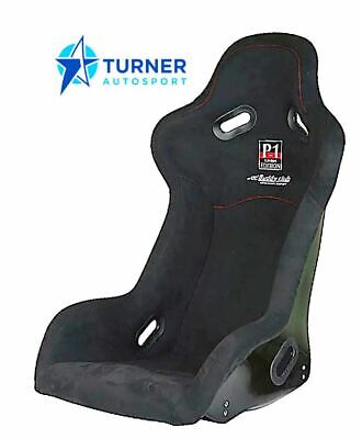 Buddy Club Fixed P1 Racing Bucket Seat Large Black Race Rally Track Day
