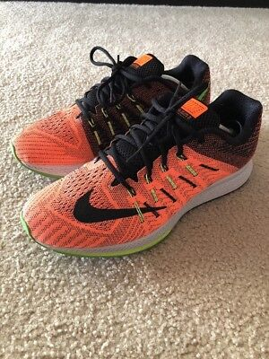 0c6b47e010b3 Nike Air Zoom Elite 8 Men s Running Size 11.5 Total Orange Green 748588-803