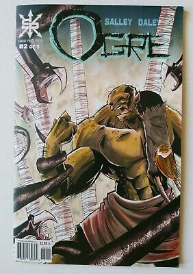 Ogre #2 (of 3) Comic Book 2018 - Source Point Press SOLD OUT