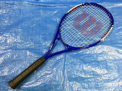 Wilson V Matrix Tennis Racket Racquet Fusion XL #3 Grip 4 3/8