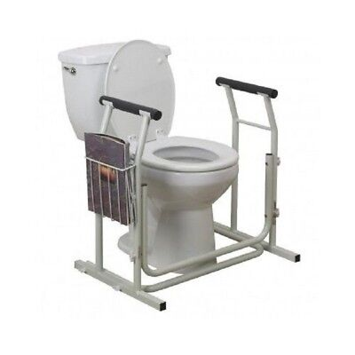 Toilet Safety Rail Bathroom Grab Bar Elderly Disability Support Handicap Stand