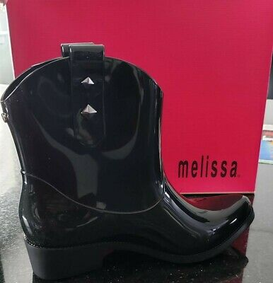 608a5265f6e5 Melissa Brasil - Women s Ankle-High Rubber Rain Boot Size 5 Brand New FINAL  SALE