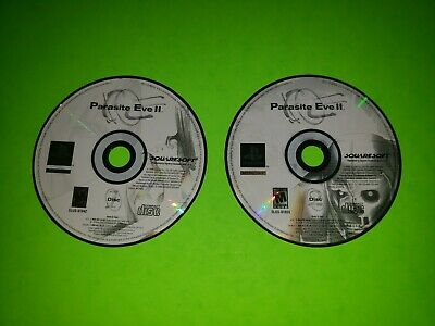 Parasite Eve II 2 PlayStation 1 PS1 2 PS2 3 PS3 TESTED VERY GOOD DISCS 1 + 2 ll