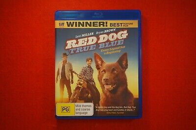 Red Dog True Blue - Blu Ray - Free Postage !!