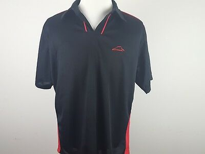 PIZZA HUT Employee Uniform Work Delivery Polo Shirt Men's Large