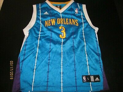 on sale 5b5a6 2b4cb CHRIS PAUL NEW Orleans Hornets Adidas Jersey Youth Large 14-16