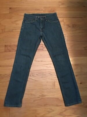 Levis 511 Slim Skinny Blue Jeans Mens Size 30W x 30L Boys Youth Preowned Good