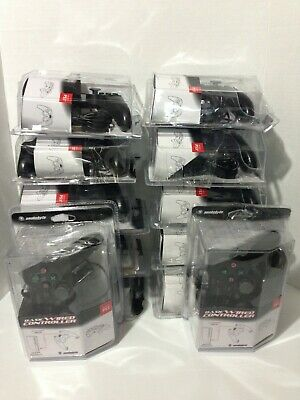 12 SNAKEBYTE PS3 Premium Black Wired Controllers for Sony PlayStation3 SB00566