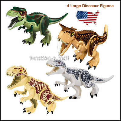 4Pcs Cool Dinosaur Play Toy Animal Action Figures Novelty Collection For Kids US