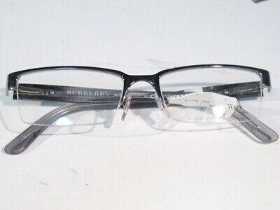 d52cbb823d8f NEW BURBERRY (BE1156) Authentic Greys Semi-Rimless Glasses Frame, Retails  $250 - $219.99 | PicClick