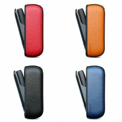 Protective Cover Holder Carrying Case Box Soft Leather Pouch for IQOS 3.0 E-ciga