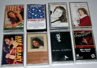 Lot of 8 Vintage Amy Grant Cassette Tapes Contemporary Christian & Mainstream
