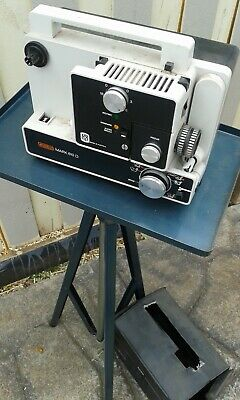 Eumig Mark 610 D Retro/ Vintage  Film Projector Including Roll Up Screen