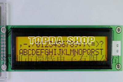5V yellow green screen 12864 display Chinese font with backlight ST7920 E1B1