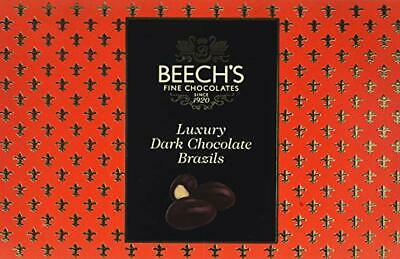Beech`s Luxury Dark Chocolate Brazils 145 gm box pack of 2