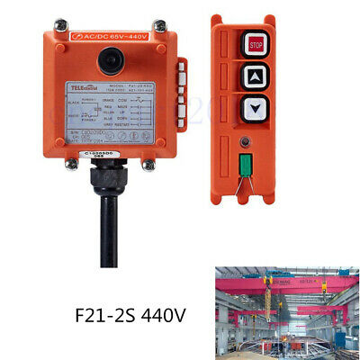 F21-2S Wireless Remote Control Electric Hoist Winch Crane Remote Control 440V