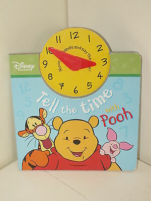 Disney Tell the Time with Pooh by Parragon Plus (Board book, 2005)