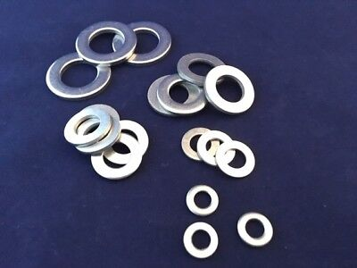 A4-316 Marine Grade Washers Flat Form A Thick  Stainless Steel M8 M10 M12 M16