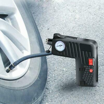 12V Electric Auto Car Bike Tire Inflator Pump Portable Air Compressor Cordless